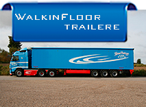 Banner Walkinfloor Trailer